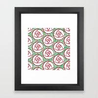 Roses & Thorns Framed Art Print
