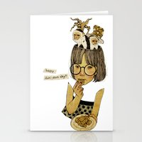 Happy April 1 st! Stationery Cards