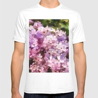 lilac season is my favorite  Mens Fitted Tee White SMALL