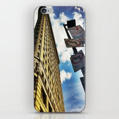 Looking Up At Flat Iron iPhone & iPod Skin