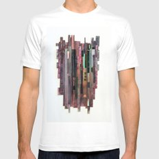 Conveyor Belt White SMALL Mens Fitted Tee