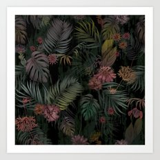 Tropical Iridescence Art Print