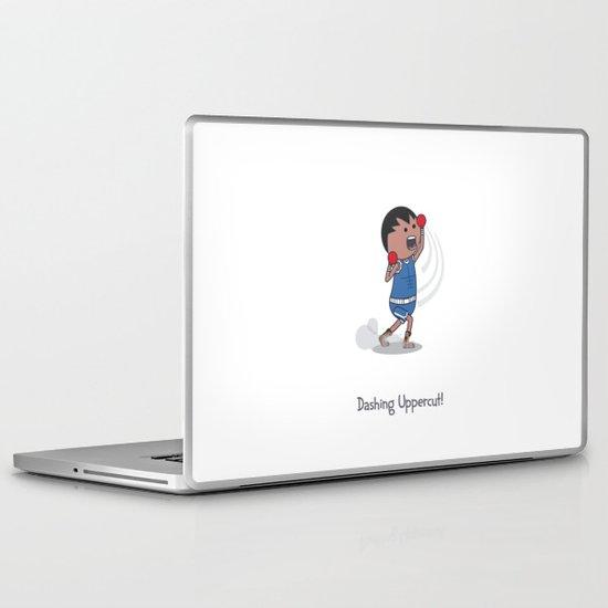 Dashing Uppercut Laptop & iPad Skin