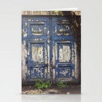 Paris Door at Jardin des Plantes Stationery Cards