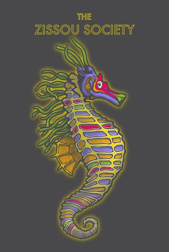 Crayon Pony Fish Art Print