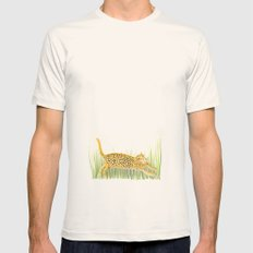 Yaguareté Mens Fitted Tee Natural SMALL