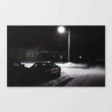 Night On My Street. Canvas Print