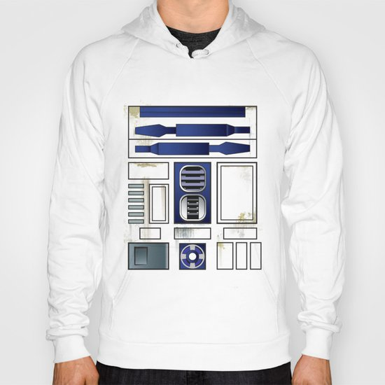 Plucky Droid Hoody