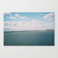 Liberty Clouds Canvas Print