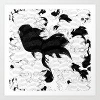 FISH PARADISE Art Print