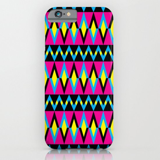 Zig Zag Triangles iPhone & iPod Case
