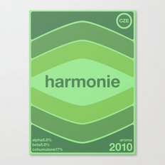 harmonie single hop Canvas Print