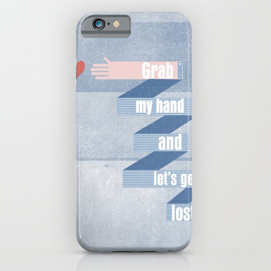 grab my hand... iPhone & iPod Case
