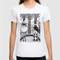 Winter Circus Womens Fitted Tee Ash Grey SMALL