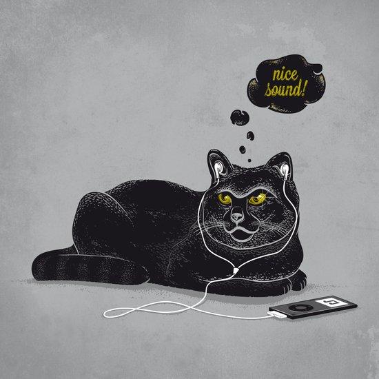 Chilling Cat Art Print