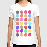 Colorplay 2 Womens Fitted Tee White SMALL