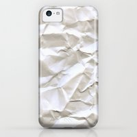 iPhone Cases featuring White Trash by pixel404