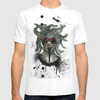 Medusa II Mens Fitted Tee White SMALL