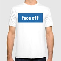 2010 - Face Off Mens Fitted Tee White SMALL