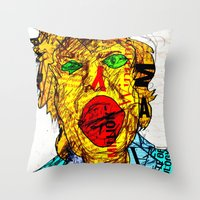 Candidate Clinton Throw Pillow