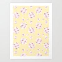 Ysabel (lemon) Art Print