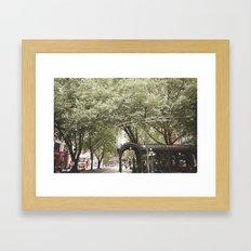 Seattle, WA Framed Art Print