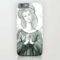 iPhone Cases featuring Holy Lady by Olivia Sementsova