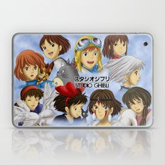 Studio Ghibli Girls Laptop & iPad Skin