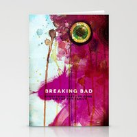 breaking bad Stationery Cards featuring BREAKING BAD by Michael Scott Murphy
