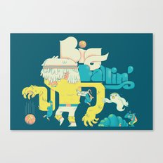 Big Ballin' Canvas Print