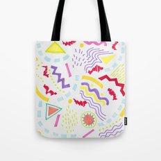 Pastel Postmodern doodle Tote Bag