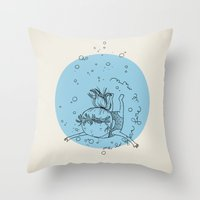 Sea. Throw Pillow