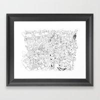 Fragments Of Memory Framed Art Print