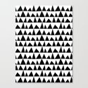 Playful triangles Canvas Print