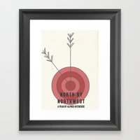North By Northwest #1 Framed Art Print