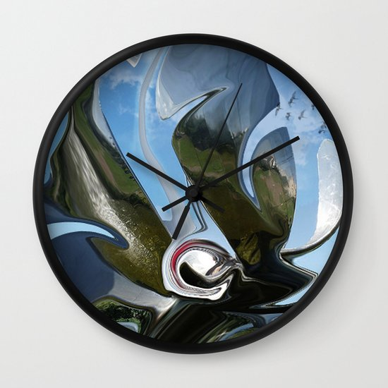 chromium 24 Wall Clock