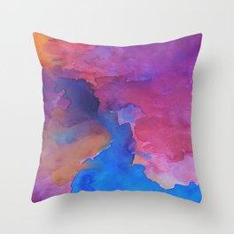 Throw Pillow - Close Your Eyes - DuckyB