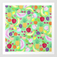 Fruit Punch Art Print
