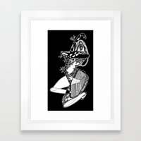 Dance with me - Emilie Record Framed Art Print