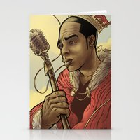Proclaimed King of Rap Stationery Cards