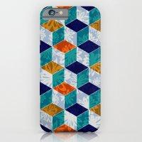 Cube Floral iPhone 6 Slim Case