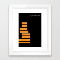 New York Skyline: New Museum Framed Art Print