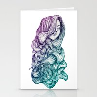 Hair Stationery Cards
