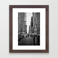 Strictly Business. Framed Art Print