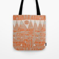 Evening On The High Past… Tote Bag