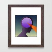 GEODETIC Awakening Framed Art Print