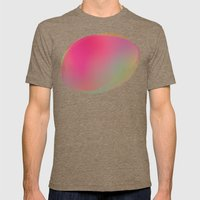 Color Study 01 Mens Fitted Tee Tri-Coffee SMALL