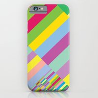 iPhone & iPod Case featuring Stairs to Office  [COLORS] [COLOR] [COLORFUL]  by David Nuh Omar