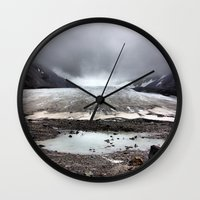 Glacial Pace Wall Clock