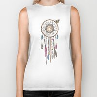 Lakota (Dream Catcher) Biker Tank